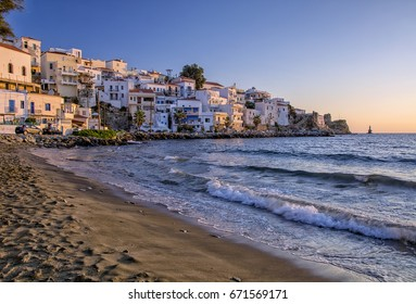 Andros island in Cyclades of Greece/Paraporti beach