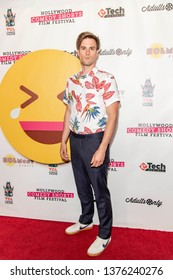 Andy Ridings attends 2019 Hollywood Comedy Shorts Film Festival at TCL Chinese Theatres 6, Hollywood, CA on April 20, 2019