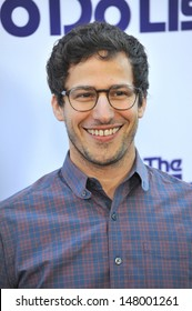 """Andy Samberg at the Los Angeles premiere of his movie """"The To Do List"""" at the Regency Bruin Theatre, Westwood. July 23, 2013  Los Angeles, CA"""