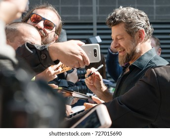 Andy Serkis on the autograph session during the 2017 Toronto International Film Festival - September 12, 2017 in Toronto, Canada