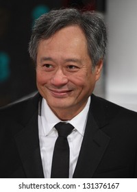 Ang Lee arriving for the 2013 British Academy Film Awards, at the Royal Opera House, London. 10/02/2013 Picture by: Alexandra Glen