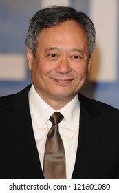 """Ang Lee arriving for the """"Life of Pi"""" premiere at the Empire, Leicester Square, London. 03/12/2012 Picture by: Steve Vas"""