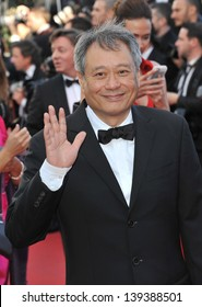 """Ang Lee at the gala premiere of """"The Past"""" (Le Pass) in competition at the 66th Festival de Cannes. May 17, 2013  Cannes, France"""