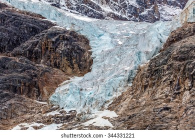 Angel Glacier 2015 in Jasper National Park, Alberta, Canada