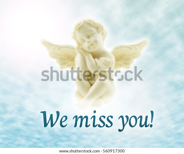 Angel Heaven We Miss You Stock Photo (Edit Now) 560917300