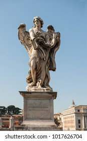 Angel with the Holy Shroud, Angel's brigde, Rome, Italy