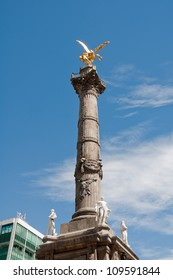 The Angel of Independence (victory column) in Mexico City