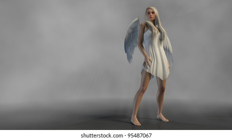 angel isolated