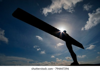 Angel of the north by Antony gormley