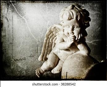 Angel, old card