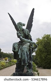 Angel, Sanssouci park in Potsdam, Germany