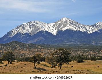 Angel of Shavano, Rocky Mountains, Colorado