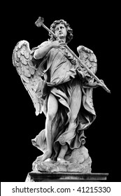 Angel with the Sponge (with vinegar) on Ponte Sant'Angelo