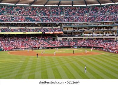Angel Stadium, Big A Angels vs Oakland A's