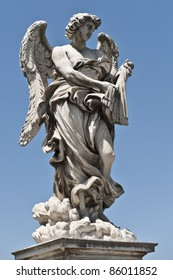 Angel with the whips on Sant Angelo Bridge