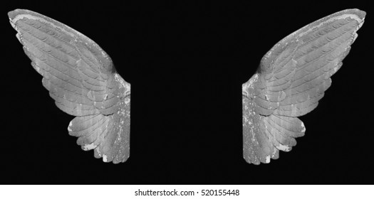 angel wings as a symbol of goodness and holiness