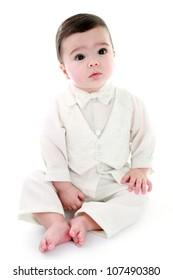 Angelic baby boy