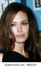 Angelina Jolie at the 2008 Film Independent Spirit Awards at Santa Monica Beach, Santa Monica, California