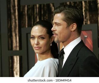 Angelina Jolie, Brad Pitt at 14th Annual Critics' Choice Awards, Santa Monica Civic Center, Santa Monica, CA, January 08, 2009