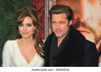 Angelina Jolie, Brad Pitt at THE TOURIST Premiere, The Ziegfeld Theatre, New York, NY December 6, 2010