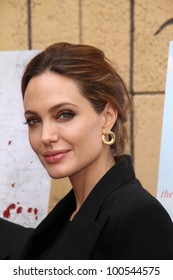 Angelina Jolie at the Golden Globe Foreign-Language Nominees Seminar, Egyptian Theater, Hollywood, CA 01-14-12