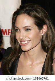 Angelina Jolie at International Women's Media Foundation 2007 Courage in Journalism Awards, Beverly Hills Hotel, Los Angeles, CA, October 30, 2007