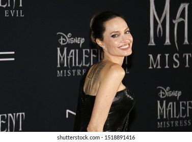 Angelina Jolie at the World premiere of Disney's 'Maleficent: Mistress Of Evil' held at the El Capitan Theatre in Hollywood, USA on September 30, 2019.