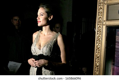 Angelina Jolie at Worldwide Orphans Foundation Benefit, Capitale Venetian Ballroom, New York, NY, October 24, 2005