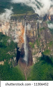 Angel's Falls, Highest waterfall in the world. Venezuela.