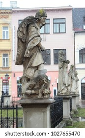Angels wings and architecture in Košice