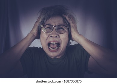 The anger and screaming woman. Hate, rage emotional angry woman. Emotion face. Human emotions, facial expression concept.