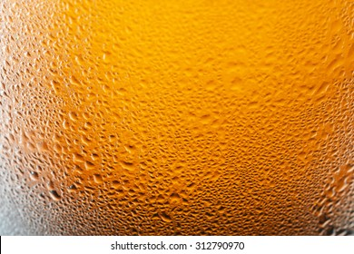Angered by the bubbles in beer , background