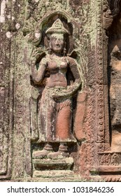 Angkor Siem Reap Cambodia February 22, 2018 Ta Phrom Temple. One of the temples within the Angkor complex