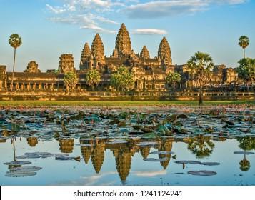 Angkor temple, Camboja