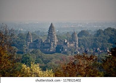 Angkor Wat Above Stock Photos, Images & Photography