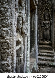 Angkor Wat Apsara. Angkor Wat. Siem Reap. Cambodia.