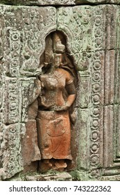 Angkor Wat - temple complex in Cambodia and the largest religious monument in the world