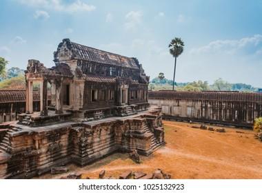 Angkor Wat Temple, Siem reap, landmark of Cambodia