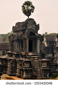 Angkor Wat temple, Siem Reap, Cambodia, february 2018