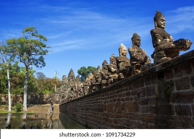 Angkor Wat, Angkor Thom, Siem Reap, Cambodia were inscribed on the UNESCO World Heritage List in 1992.