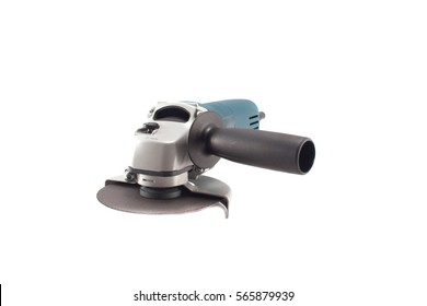 angle grinder on a white background