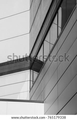Angled Walls Morning Light Greenville NC Stock Photo (Edit