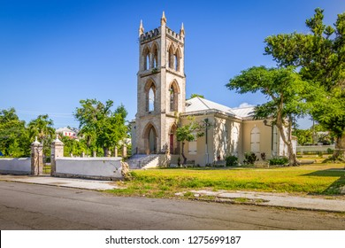 Anglican Church in Frederiksted, St Croix, Vigin Islands.