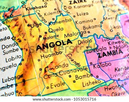 Angola Africa Isolated Focus Macro Shot Stock Photo (Edit Now ...