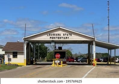 "ANGOLA, LA � APRIL 11: The Louisiana State Penitentiary located in Angola, Louisiana on April 11, 2014. The Louisiana State Penitentiary is a prison farm nicknamed the �Alcatraz of the South."""