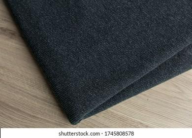 Angora fabric is blue. fabric knitwear