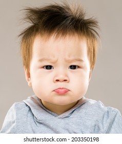 Cute Angry Baby Wallpaper