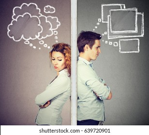 Separated Couple Images, Stock Photos & Vectors | Shutterstock