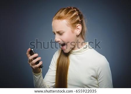Angry redhead girl final