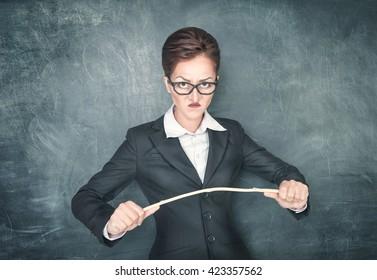 The Angry Teacher
